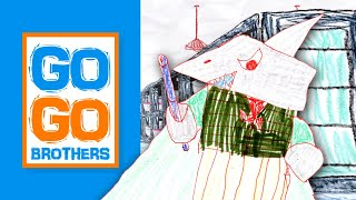 "The Go Go Brothers S1 (Ep 1) ""Shark Wizard"""