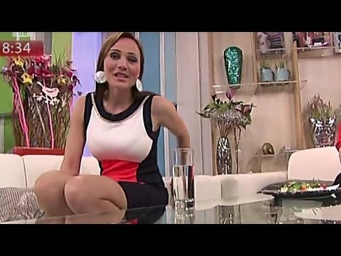 Adriana Polakova Beautiful Slovakian Tv Presenter 16.03.2012