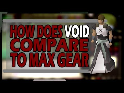 [OSRS] How Does VOID Compare To MAX GEAR | Comparison