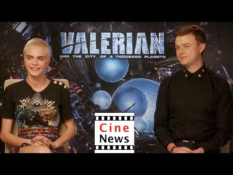 """Valerian and the City of a Thousand Planets"" – Interview: Dane DeHaan & Cara Delevingne"