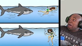 13 Tips on How to Survive Wild Animal Attacks REACTION!