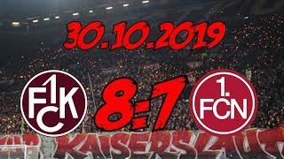 1. FC Kaiserslautern 8:7 1. FC Nürnberg – 30.10.2019 – 15 Elfer… sieht man auch nicht alle Tage…
