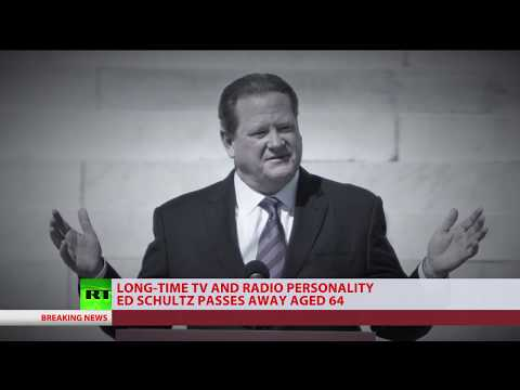 'One of the most honest voices in US': RT America anchor Ed Schultz dead at 64