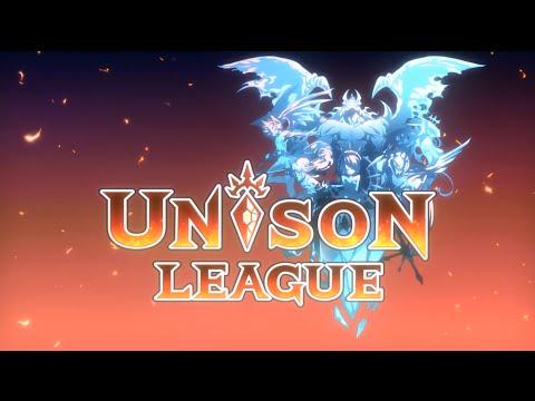 新感覚リアルタイムRPG『ユニゾンリーグ』オープニングアニメ