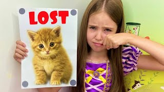 Masha lost her cat. The best cat stories for kids