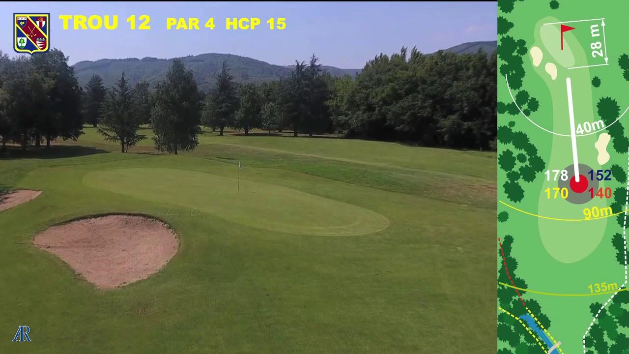 Vidéo du trou numéro 12 | Golf La Barouge Mazamet