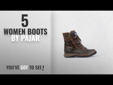 Top 10 Pajar Women Boots [2018]: Pajar Men's Trooper Boot, Dark Brown, 41 EU/8 M US