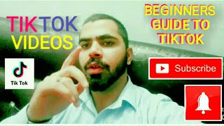 How To Make TIK TOK Videos-Beginners Guide To Tik TOK 2019