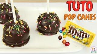 ♡• RECETTE POP CAKE CHOCOLAT ET M&M'S SANS MOULE ET SANS CUISSON - FACILE ET RAPIDE •♡