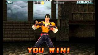Jin Kazama-Tekken 3