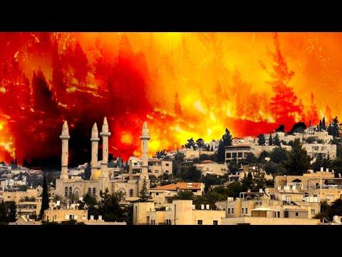 Forced EVACUATION🔥 Uncontrolled Wildfires at Jerusalem Hills, Israel