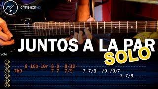 """Cómo tocar """"Juntos a la Par"""" de Pappo en Guitarra SOLO (HD) Tutorial - Christianvib"""