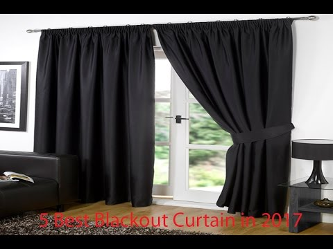 5 Best Blackout Curtain In 2017