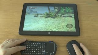 1# Dead Island Riptide (PC) test on tablet Intel Core M-5Y71 new Dell Venue 11 Pro 7140