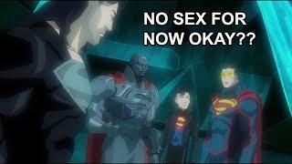 Eradicator Preventing Superman To Have Sex