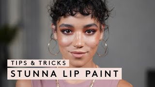 TIPS & TRICKS: STUNNA LIP PAINT | FENTY BEAUTY