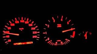 BMW 323i E36 1996 acceleration (stock)