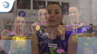Behind the Gold: Meet Europe's Champions! Episode 4, part 1: Catalina Ponor (ROU)