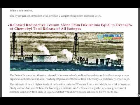 Yellow Powder, Vietnam, Czech Bets, Kozloduy Repository, Shiitakes, Fukushima Hydrogen