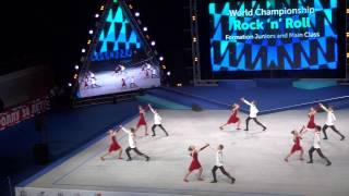 Самый красивый и трогательный танец Чемпионата мира по акробатическому рокнроллу в Сочи 2016