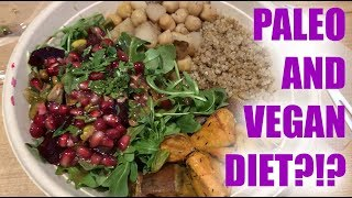 PALEO + VEGAN WEIGHT LOSS DIET??!? | SHOPPING LIST & WHAT I EAT