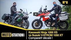 Kawasaki Ninja 1000 SX vs Suzuki V-Strom 1050 XT : comparatif décalé !