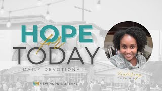 Hope for Today | Build on the Solid Rock | 1.08.21