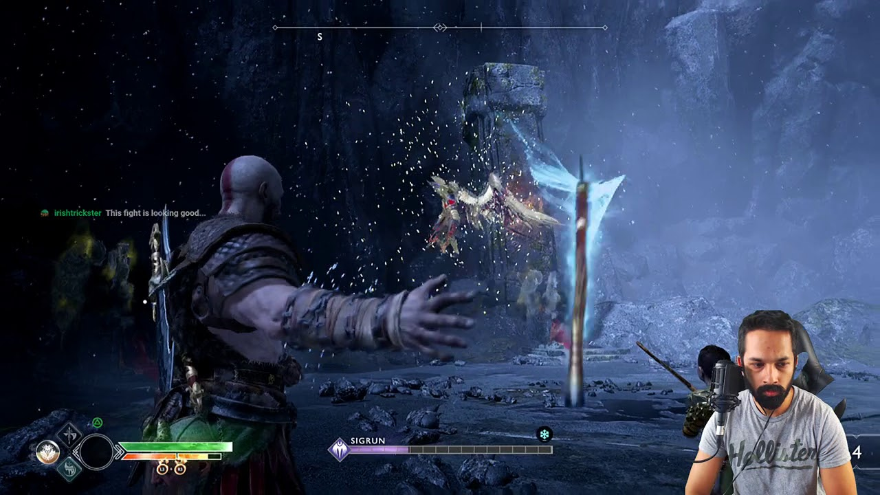 Sigrun The Valkyrie Queen - No Damage - Give Me God of War (Max Difficulty)  - Level 1 | God of War
