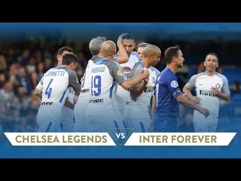 CHELSEA LEGENDS-INTER FOREVER 1-4 | Highlights
