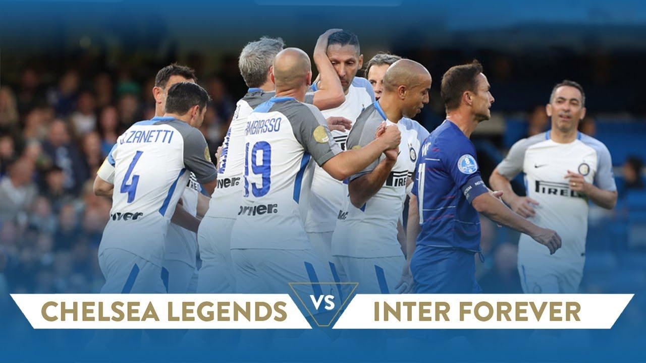 e8e580a9c CHELSEA LEGENDS-INTER FOREVER 1-4 @Stamford Bridge | Highlights ...