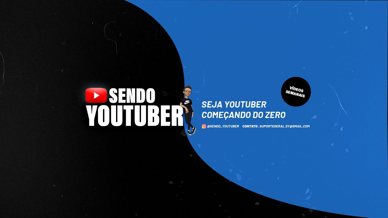 Seja Bem Vindo ao Canal Sendo YouTuber.