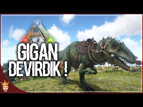GİGANOTOSAURUS DEVİRDİK | ARK Türkçe Multiplayer | Bölüm 23
