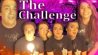 MIXED UP MAKEUP CHALLENGE!! (Warning)