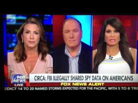 Breaking News: Circa News Sara Carter, reports FBI illegally sharing information on Americans