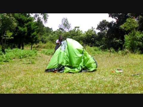 cara mendirikan tenda dome great outdoor explore 3/4