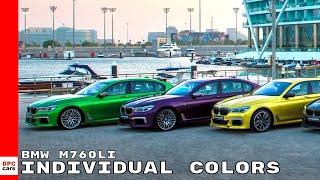 2018 BMW M760Li Individual Colors