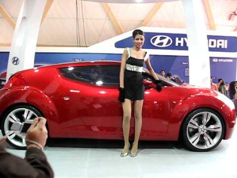 Hyundai Veloster Auto Expo 2008 Jan 2008
