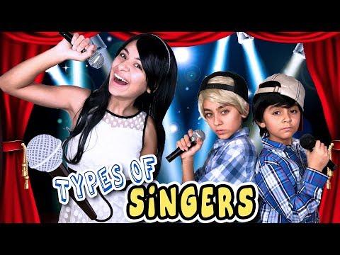 Types of Singers - Lip Sync Battle Shorties on Nickelodeon // GEM Sisters