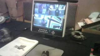 New DVR with flatscreen monitor