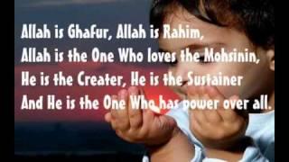 Zain Bhikha - Give thanks to Allah lyrics