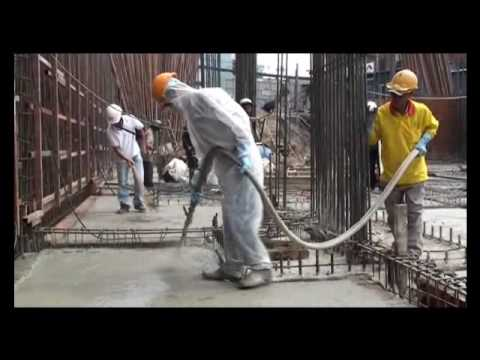 AQUAFIN-IC - crystalline construction waterproofing - spray applied