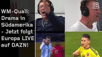 WM-Quali: Drama in Südamerika - Jetzt folgt Europa | Highlights | FIFA WM Quali | DAZN