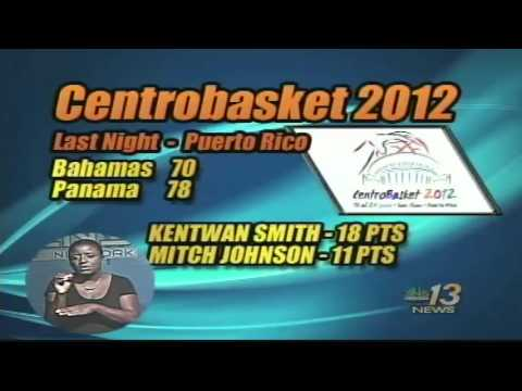 Team Bahamas Loses Again @ Centrobasket 2012
