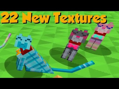 Holiday Update - Easter Eggs & Secret New Textures