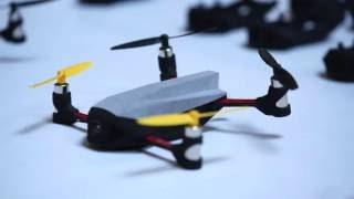 Les drones de Nano Racing à la Cité des Sciences