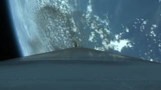 orbital atk s cygnus cargo spacecraft launches to the iss