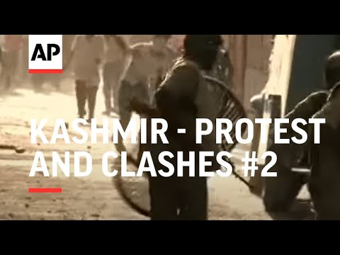 Protests despite curfew in Indian-administered Kashmir