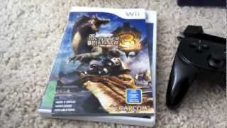 Unboxing Monster Hunter Tri Classic Controller Pro Pack