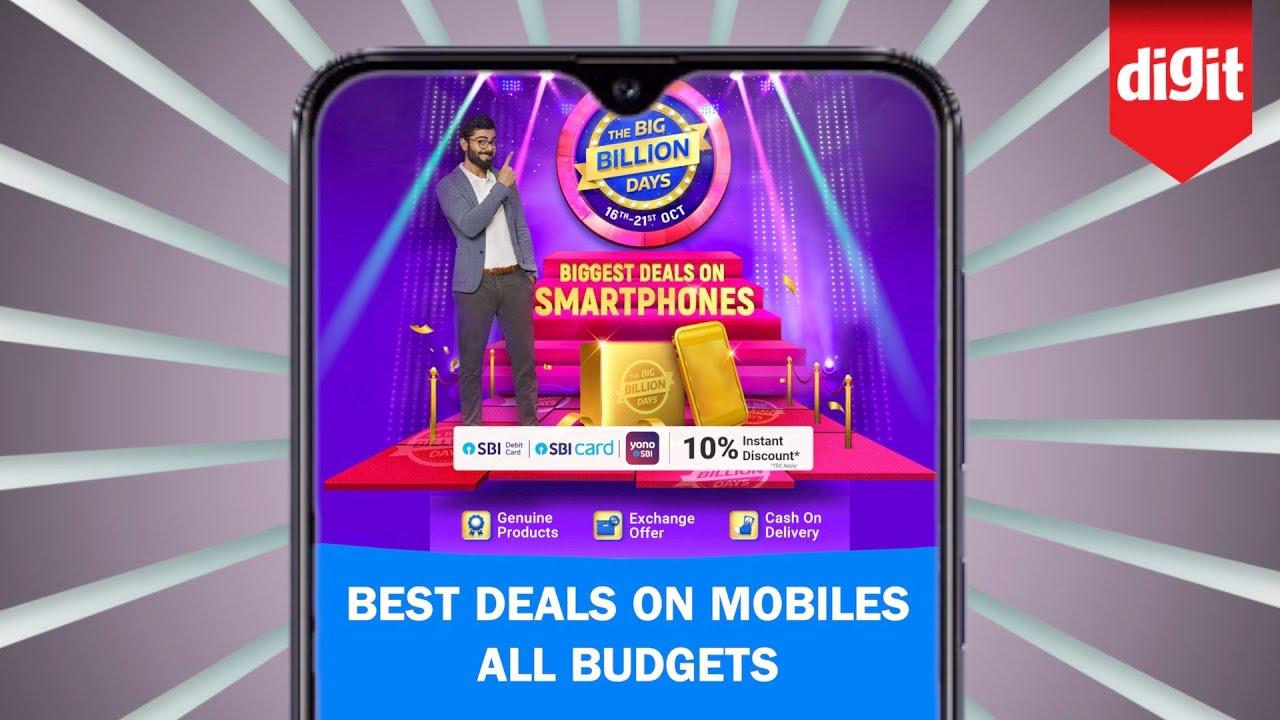 Best Deals On Mobile Phones Across All Budgets During The Flipkart Big Billion Days Sale Youtube