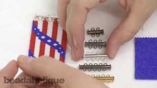 How to Attach Tube Clasps to Peyote Bead Weaving